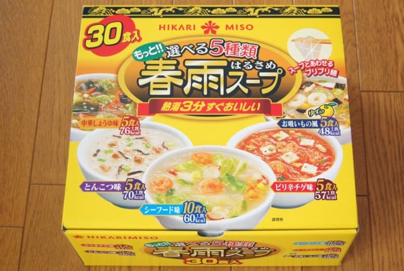 [2]が投稿したひかり味噌 もっと!! 選べる5種類春雨スープ(30食入5種のアソート)の写真