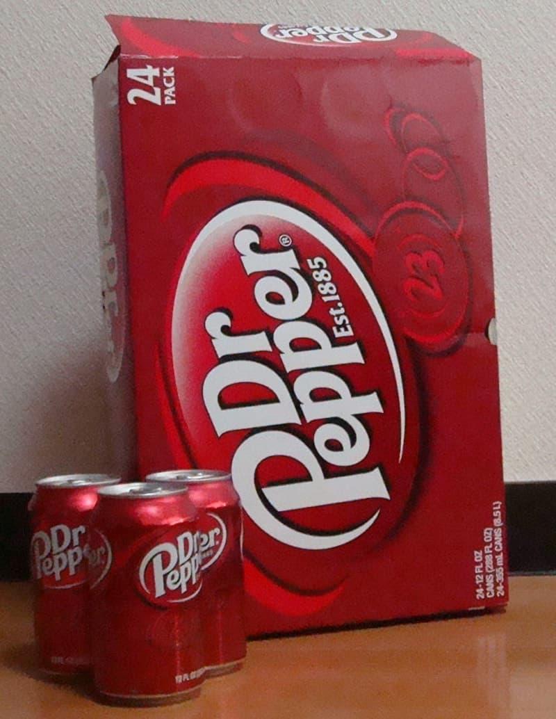 [2]が投稿したDr.Pepper ドクターペッパー 355ml×24缶セットの写真