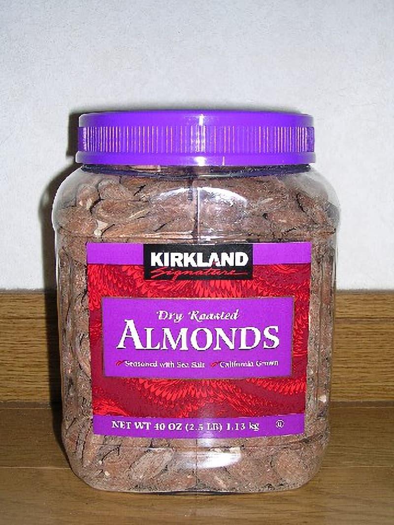[2]が投稿したカークランド DRY ROASTED ALMONDS (ローストアーモンド)の写真