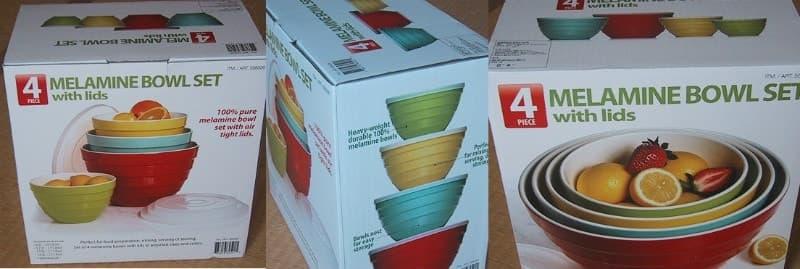 [2]が投稿したPANDEX Melamine Bowl Set メラミンボウルセットの写真