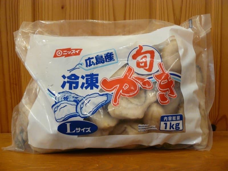 [2]が投稿したニッスイ 広島産 冷凍かき Lサイズ 1kgの写真