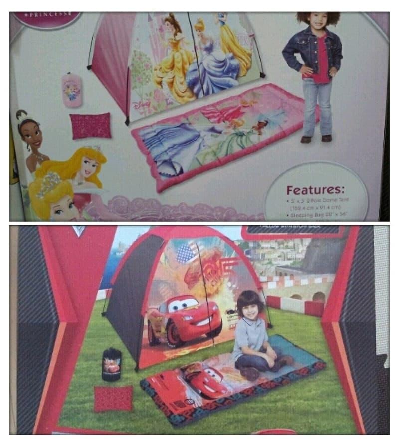 [2]が投稿したDISNEY ディズニー キッズエクスプローラーキット(テント)の写真