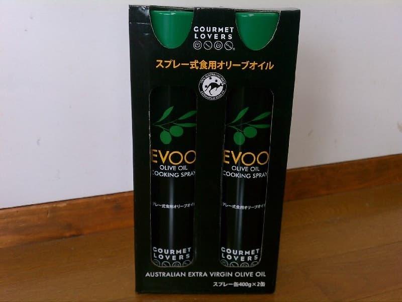 [2]が投稿したGOURMET LOVERS EVOO スプレー式食用オリーブオイルの写真