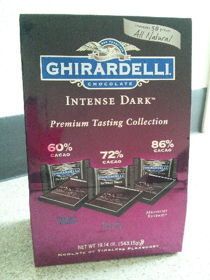 [27]が投稿したGHIRARDELLI(ギラデリ) ダークチョコレート (INTENSE DARK Premium Tasting Collection)の写真
