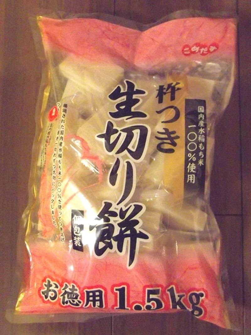[2]が投稿したこめだす 杵つき生切り餅の写真