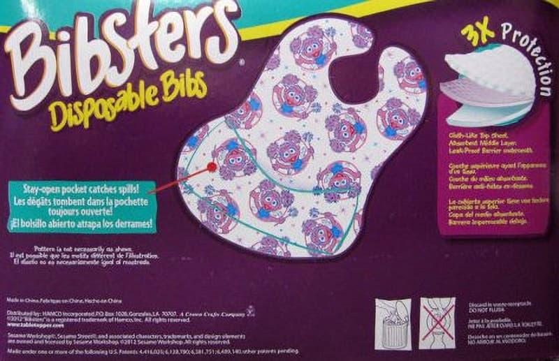 [3]が投稿したBibsters Disposable Bibs セサミストリート ビブスター 紙スタイ よだれかけ 60枚の写真