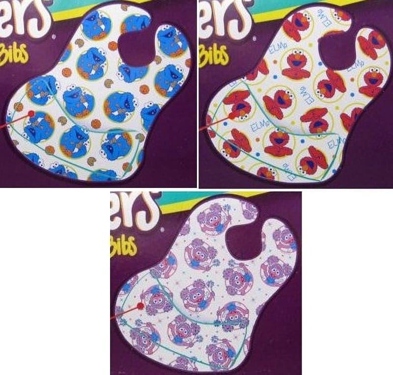 [4]が投稿したBibsters Disposable Bibs セサミストリート ビブスター 紙スタイ よだれかけ 60枚の写真