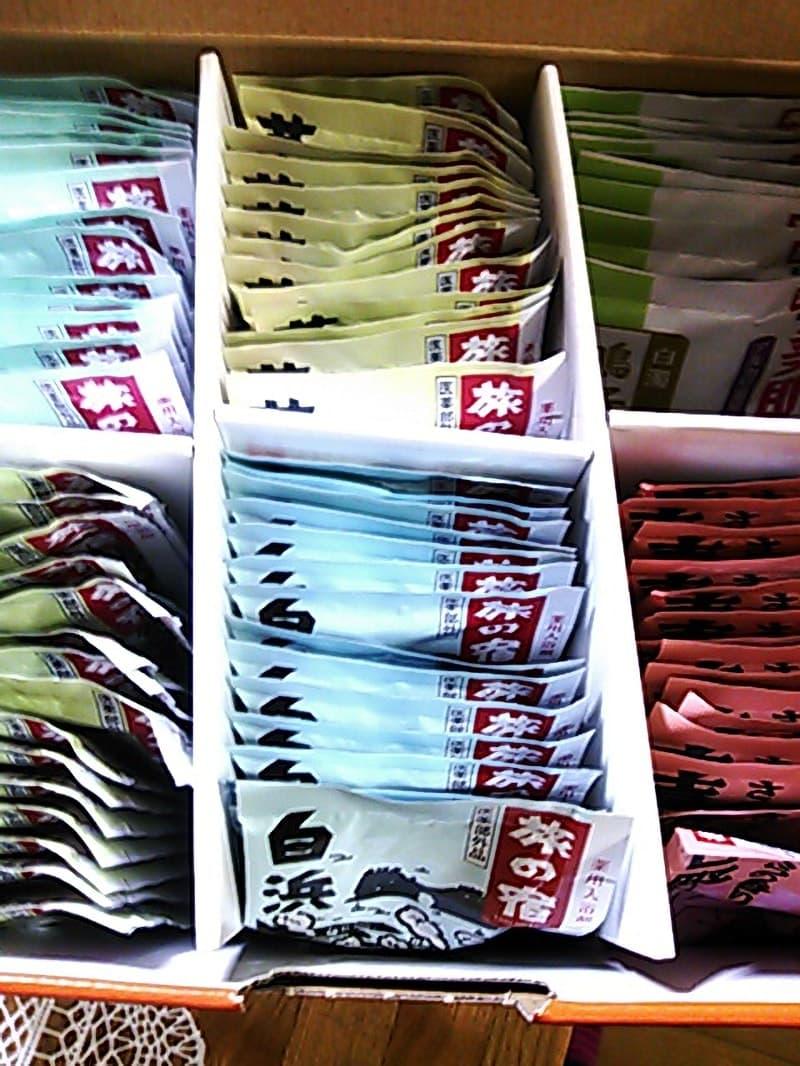 [3]が投稿したクラシエ 旅の宿 薬用入浴剤85包入の写真