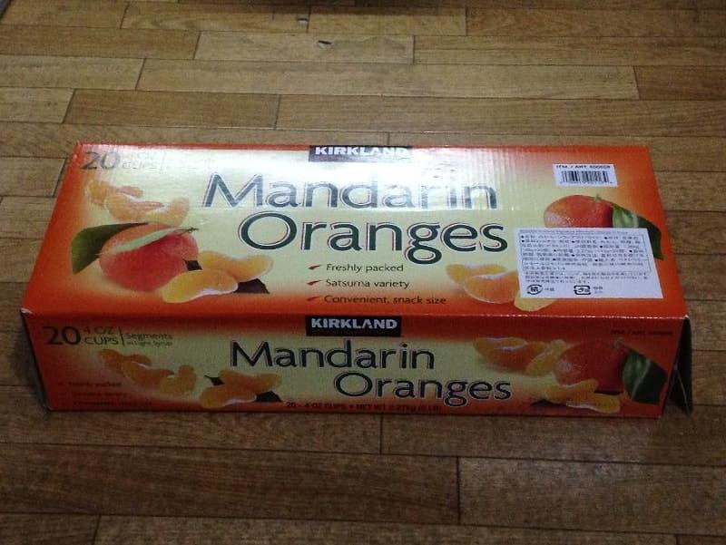 [2]が投稿したカークランド マンダリンオレンジ みかん シラップづけ(ライト)の写真