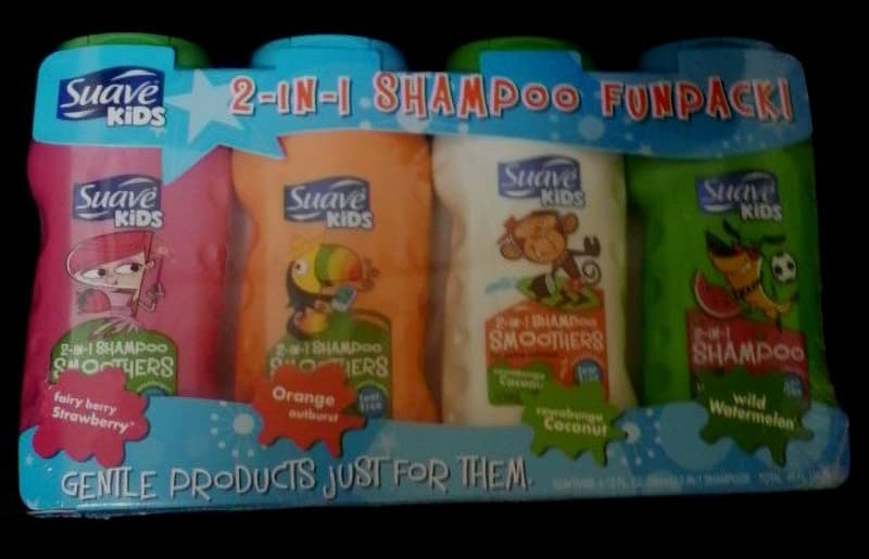 [2]が投稿したSuave Kids 2 in 1 Shampoo FUNPACK スアーブ キッズ 2in1 キッズシャンプー4本セットの写真