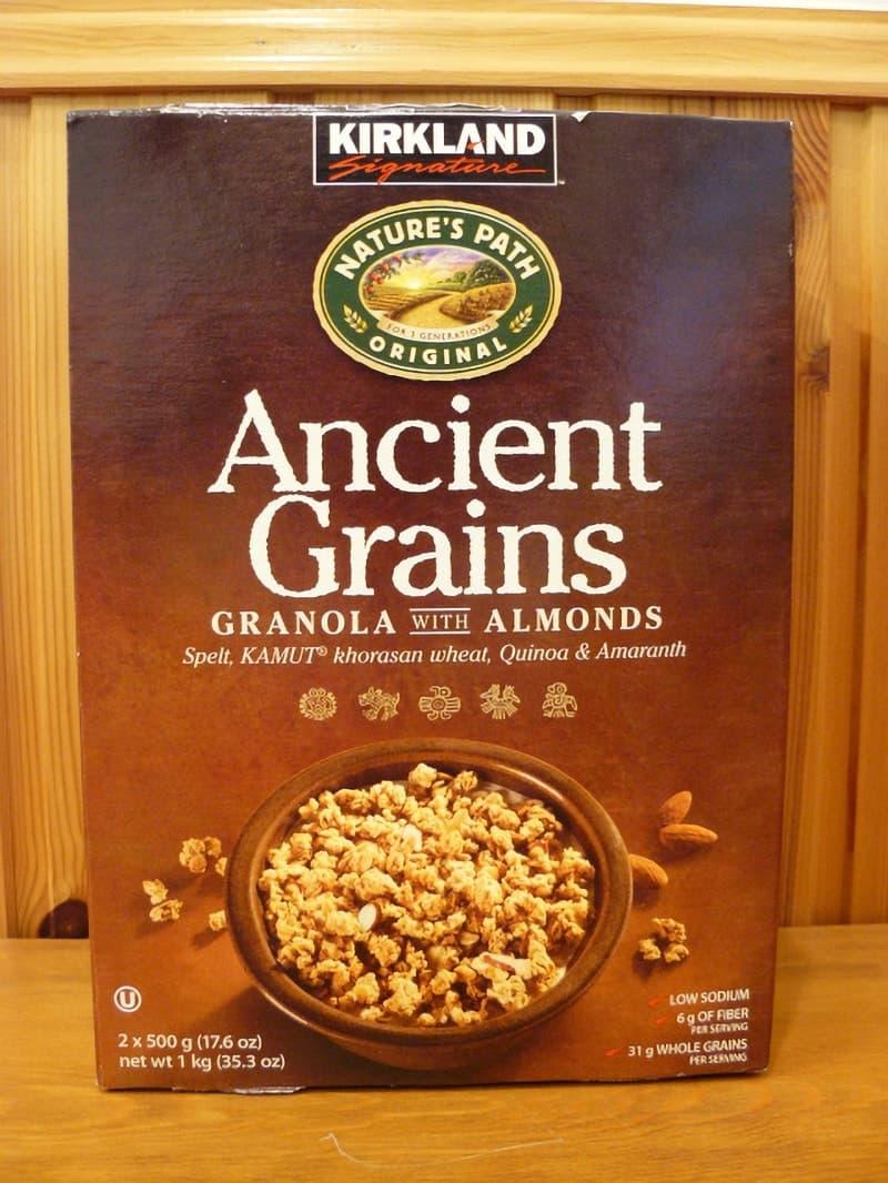 [2]が投稿したカークランド Ancient Grains アーモンド グラノーラの写真