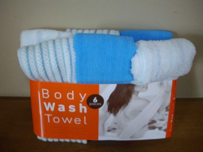 [2]が投稿したマーナ Body Wash Towel 6 Pieces (ボディ ウオッシュ タオル)の写真