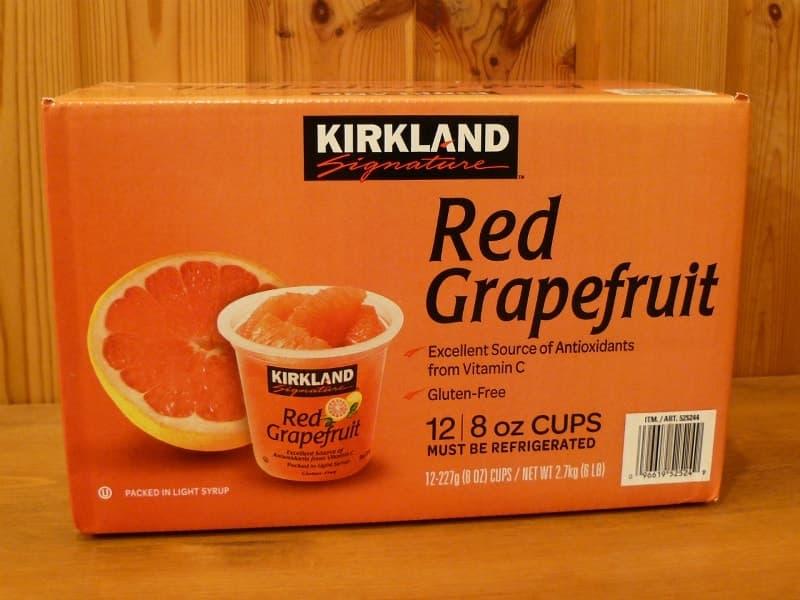 [2]が投稿したカークランド レッドグレープフルーツ シロップ漬けの写真