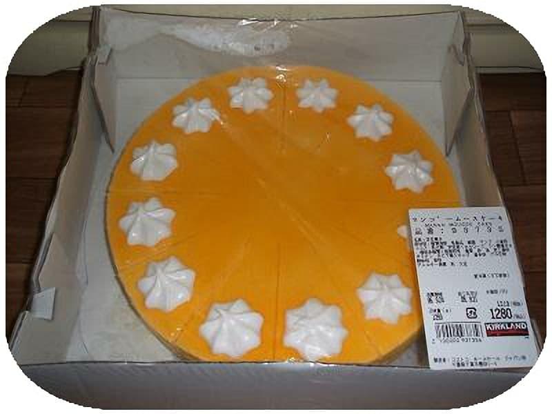 [2]が投稿したカークランド マンゴームースケーキの写真