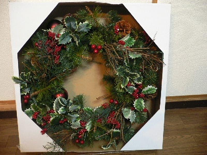 [2]が投稿したクリスマスリースの写真
