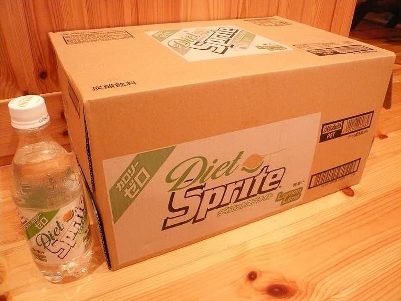 [2]が投稿したコカ・コーラナショナルビバレッジ ダイエットスプライト(Diet Sprite)の写真