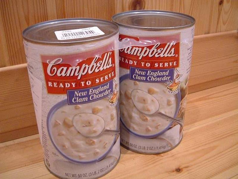 [8]が投稿したキャンベル クラムチャウダー スープの写真