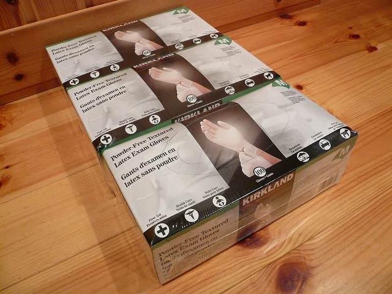 [10]が投稿したカークランド ラテックス手袋 Mサイズの写真