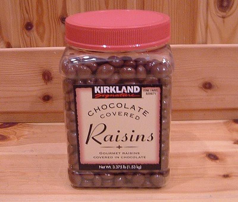 [2]が投稿したカークランド チョコレートレーズンの写真