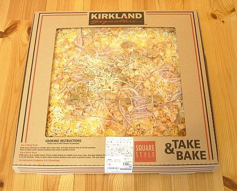 [2]が投稿したカークランド スパイシーチキンピザの写真