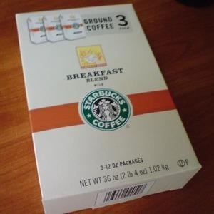 スターバックス ブレックファスト ブレンドコーヒー
