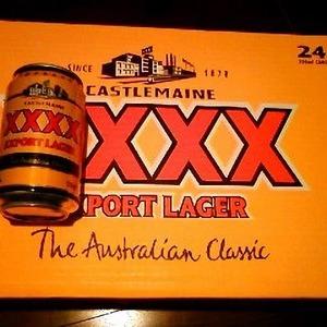 XXXX Export Lager Beer