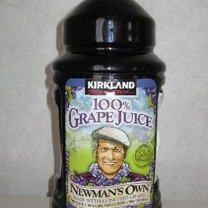 カークランド 100%グレープジュース(2本組)