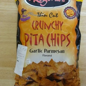 Regenie's ピタチップス ガーリック パルメザン(Thin Cut Crunchy Pita Chips Garlic Parmesan)