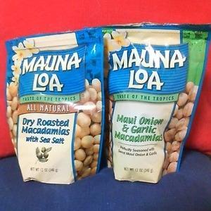 マウナロアマカダミアナッツ Dry Roasted Maui Onion&Garlic