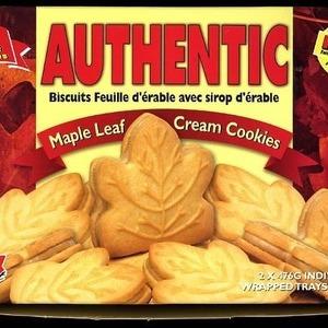 ルクレール・メープルリーフクリームクッキー