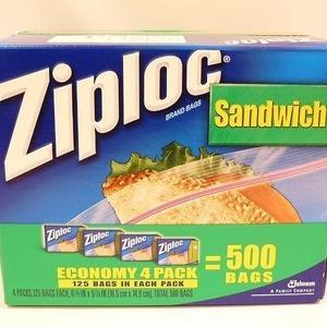 ジップロック(Ziploc) サンドイッチ バッグ