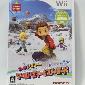 NINTENDO(任天堂) Wii ワールドスキー&スノーボード