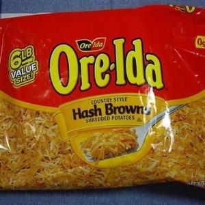 OREIDA(オレアイダ) HASH BROWN 2.72kg