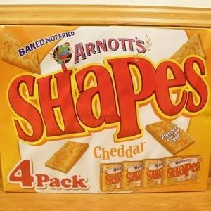 アーノッツ シェイプス チェダーチーズ バリューパック(4箱入り)