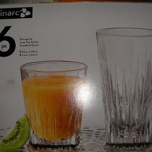 Luminarc(ルミナルク) Beverage Set 16pc