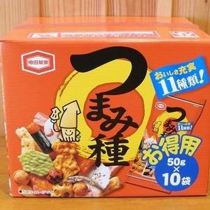 亀田製菓 つまみ種 お徳用 50g×10袋