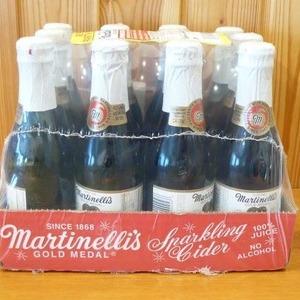 マーティネリ Martinelli's スパークリング アップルサイダー 250ml×12