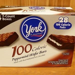 ヨーク(york) 100kcal ペパーミント ウェファー バー