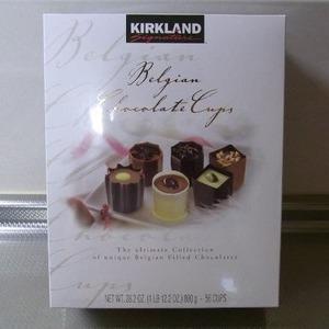 カークランド ベルギーチョコレートカップス