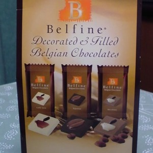 Belfine(ベルファイン) Decorated & Filled Belgian Chocolates