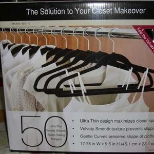 50 コートハンガー クロゼットオーガナイザー (50 Coat Hangers Closet Organizer)