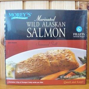 MOREY'S ワイルドアラスカンサーモン Wild Alaskan Salmon