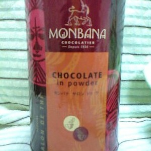 MONBANA チョコレート イン パウダー