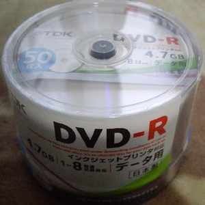 TDK DVD-R データ用 50枚入