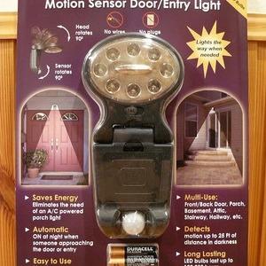 Meqabrite ワイヤレス モーション センサー ドア/エントリー ライト