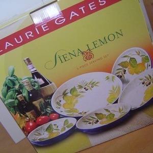 LAURIE GATES パスタ皿セット