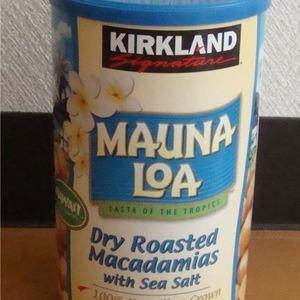 カークランド MAUNA LOA マカダミアナッツ680g