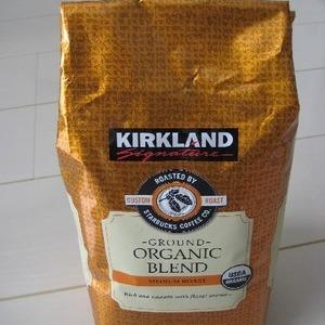 カークランド オーガニックブレンドコーヒー