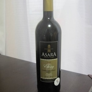 ASARA カルベネ メルロー 2008年 南アフリカ産赤ワイン