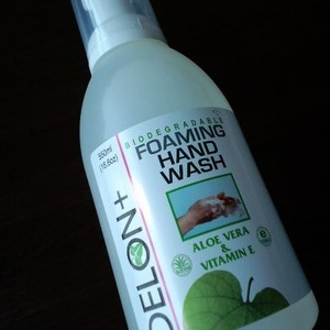 DELON+ FOAMING HAND WASH ALOE VWRA&VITAMIN E